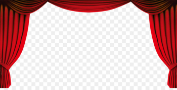 Red Gold Clip art - Opening curtains  png image transparent background