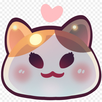 Final Fantasy XIV Discord Art Emote - slime  png image transparent background