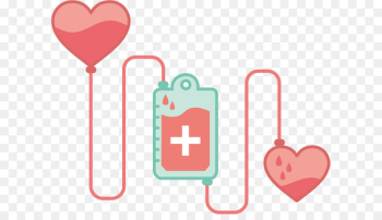 Blood donation World Blood Donor Day Blood transfusion - Vector Hand-painted love transfusion  png image transparent background