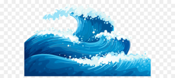Wind wave Euclidean vector Wave vector - Blue Sea Waves Ground Clipart Picture  png image transparent background