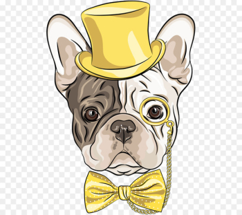 French Bulldog Stock illustration Royalty-free Vector graphics - chwawa illustration  png image transparent background