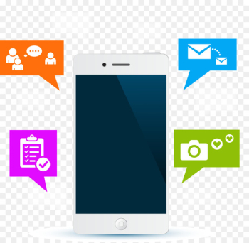 Mobile app Instant messaging Mobile Phones Message Computer Icons - Mobile phone icon  png image transparent background