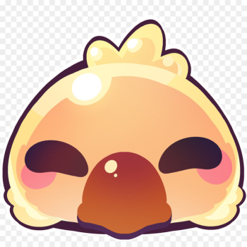 Final Fantasy XIV Emote Emoji Discord Chocobo - Emoji  png image transparent background