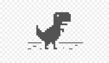 Dino T-Rex Runner Tyrannosaurus Dino Chrome - dinosaur  png image transparent background