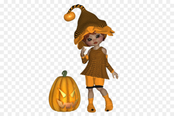 Autumn Fairy 0 Image Centerblog - halloween doll  png image transparent background