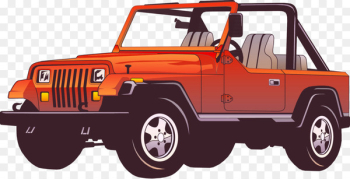 Jeep Wrangler Car Force Clip art - Jeep SUVs vector material  png image transparent background