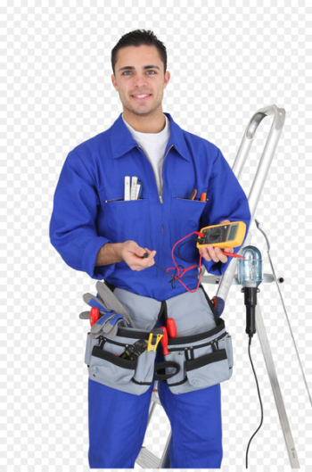 Electrician Electricity Service Test light Handyman - professional electrician  png image transparent background