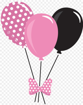 Mickey Mouse Minnie Mouse Balloon Clip art - pink balloon  png image transparent background