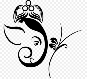 Ganesha Wall decal Sticker - ganesha  png image transparent background