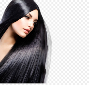 Beauty Parlour Hairdresser Hair straightening Hair coloring - model  png image transparent background