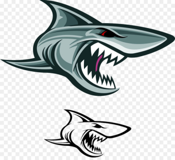 Great white shark Vector graphics Illustration Stock photography - ferocious  png image transparent background