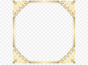 Fancy That Boutique LOUENHIDE Clip art - Gold Border Frame PNG Clip Art Image  png image transparent background