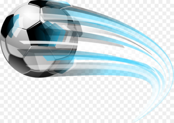 Football Sport Shin guard - Vector flying football  png image transparent background