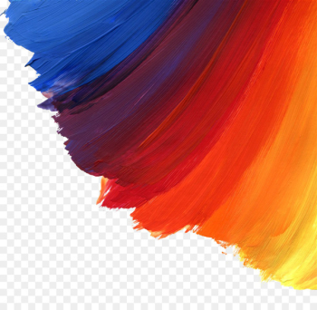 Watercolor painting Brush Oil paint - Color Paint Brushes  png image transparent background