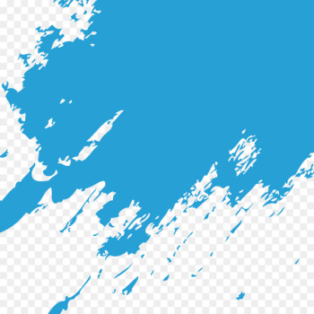 Blue Paintbrush - Blue paint brush marks  png image transparent background