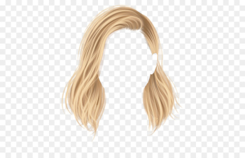 Hairstyle Stardoll Wig Blond - hair shapes  png image transparent background