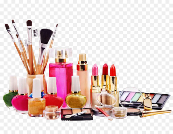 Ingredients of cosmetics Beauty Parlour - Makeup Cosmetics  png image transparent background