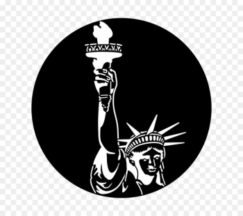 Statue of Liberty National Monument Gobo Independence Day Steel - stagecraft graphic  png image transparent background