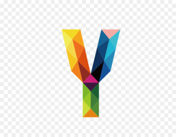 Letter Y - Colorful letters Y  png image transparent background