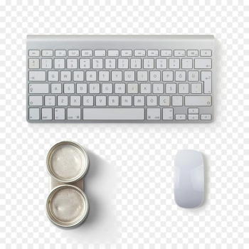 Computer keyboard Macintosh Computer mouse Magic Mouse 2 - White keyboard and mouse  png image transparent background