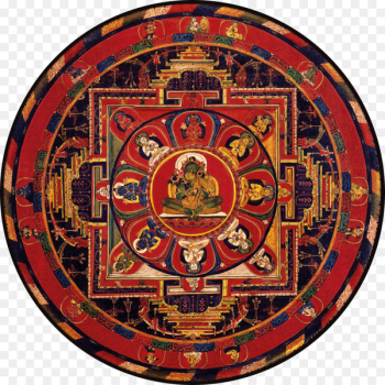 Mandala Tara Thangka Tibetan Buddhism - Buddhism  png image transparent background