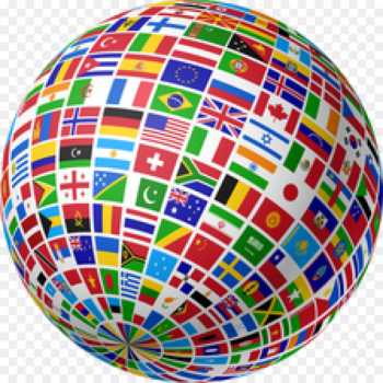 Flags of the World Globe Flag of Earth - International  png image transparent background