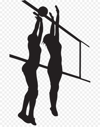 Volleyball Silhouette Shadow Clip art - volleyball setter  png image transparent background