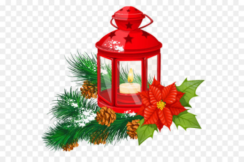 Paper lantern Christmas Candle Clip art - Red Christmas Lantern Transparent PNG Clipart  png image transparent background