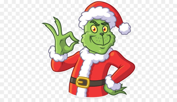 Christmas tree Grinch Telegram Sticker Clip art - christmas tree  png image transparent background