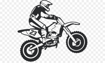 Motocross Motorcycle Wall decal Sticker - motocross  png image transparent background