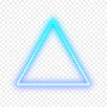 Triangle Light Detroit: Become Human Sticker Neon sign - triangle  png image transparent background
