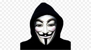 Anonymous Guy Fawkes mask Gunpowder Plot - Anonymous mask PNG  png image transparent background
