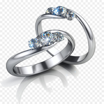 Earring Jewellery Diamond Engagement ring - Diamond Ring  png image transparent background