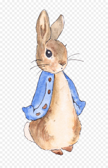 The Tale of Peter Rabbit The Tale of the Flopsy Bunnies Create Your Own Peter Rabbit Nursery - rabbit  png image transparent background
