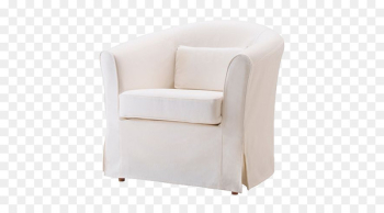 Wing chair IKEA Fauteuil Furniture - Armchair cover  png image transparent background