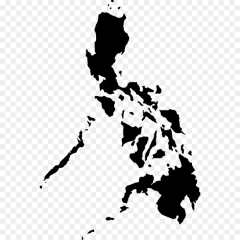 Philippines Vector Map Royalty-free Silhouette - the seven wonders  png image transparent background