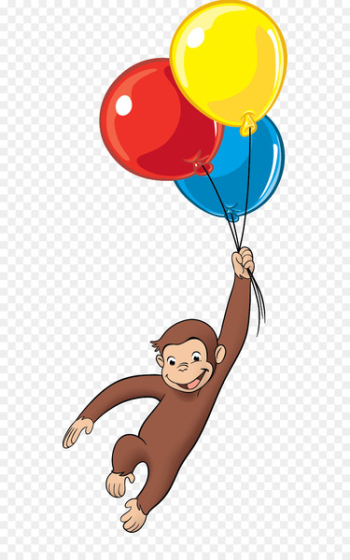 Curious George Balloon United States Clip art - balloon  png image transparent background
