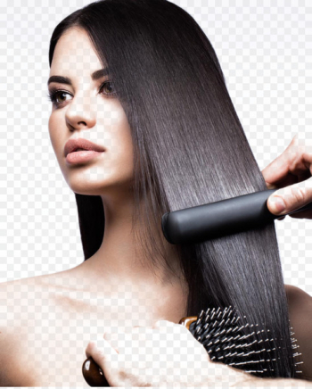 Hair iron Hair straightening Beauty Parlour Hair care - Beautiful hair beauty  png image transparent background