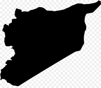 Syrian civil war Map Flag of Syria - map  png image transparent background