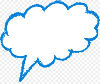 Speech balloon Text Cloud - SPEECH BUBBLE  png image transparent background