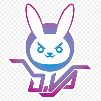 Overwatch Decal D.Va Sticker Die cutting - T-shirt  png image transparent background
