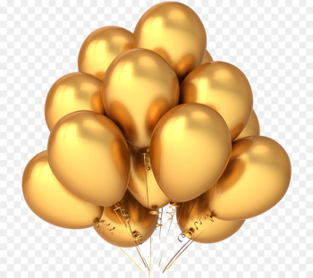 Balloon Gold Stock photography Stock illustration Clip art - Gold balloon  png image transparent background