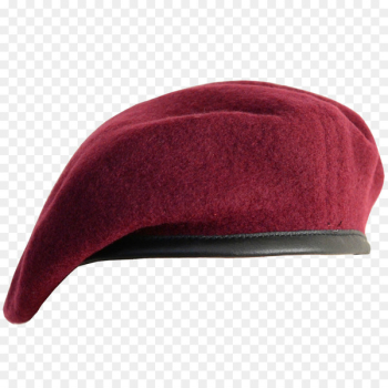 Maroon beret Military beret Black beret Berets of the United States Army - Hat  png image transparent background