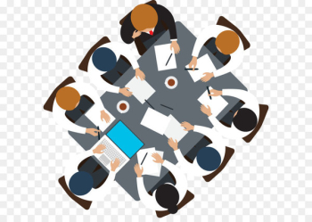 Meeting Business Icon - Vector meeting people  png image transparent background