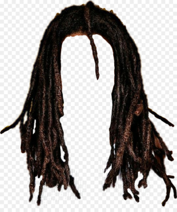 Mohawk hairstyle Long hair Dreadlocks - hair  png image transparent background