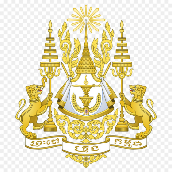 Royal arms of Cambodia Royal coat of arms of the United Kingdom Flag of Cambodia - Cambodia  png image transparent background