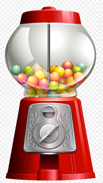 Chewing gum Cotton candy Gumball machine Vending Machines - candy  png image transparent background