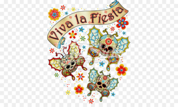 Party Day of the Dead Mexican cuisine Clip art Birthday - rhinestone map  png image transparent background