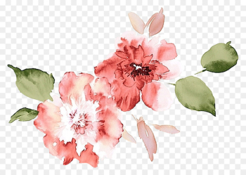 Watercolour Flowers Watercolor painting Poppy Flowers Watercolor: Flowers - flower  png image transparent background