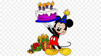 Mickey Mouse Birthday cake Greeting & Note Cards Clip art - mickey mouse birthday  png image transparent background